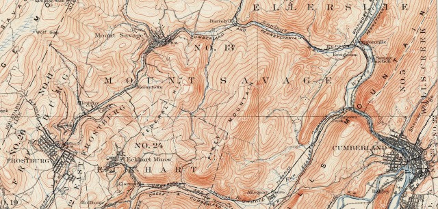 Wills Town area 1908