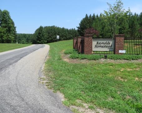 Reynolds Homestead entrance